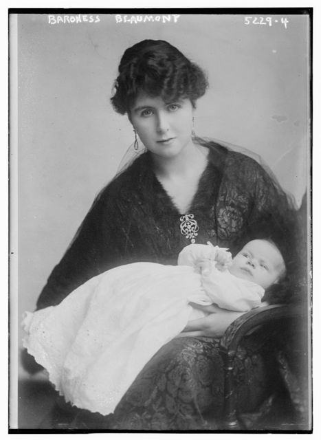 Baroness Beaumont & baby