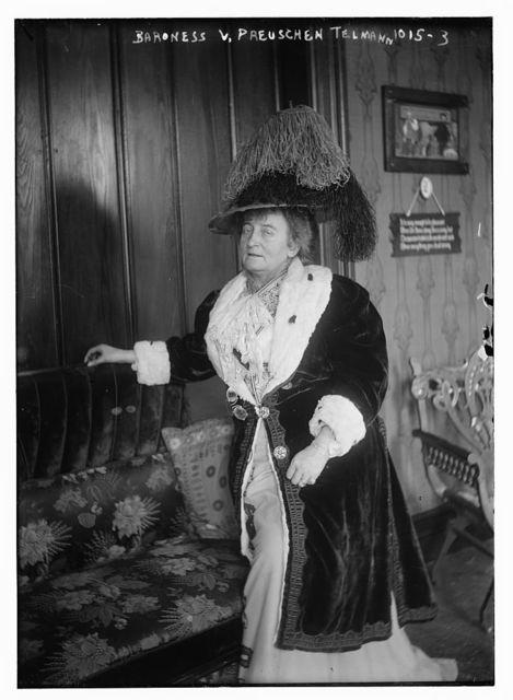 Baroness V. Preuschen Telmann