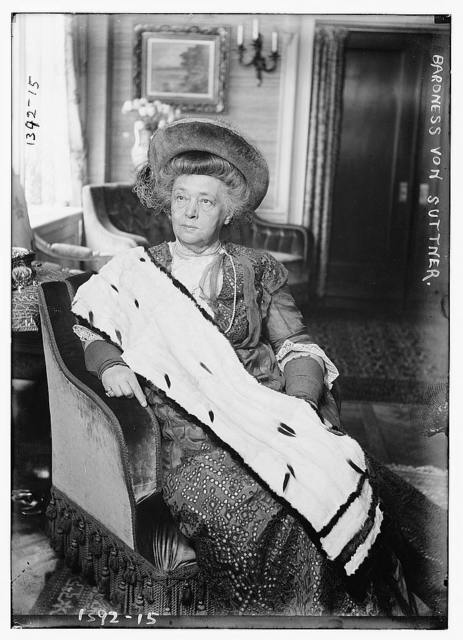 Baroness von Suttner