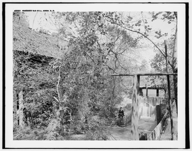 Barton's old mill, Aiken, S.C.