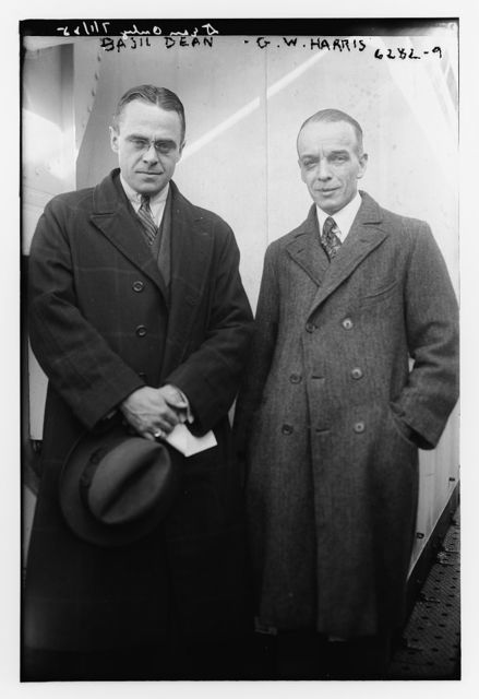 Basil Dean & G.W. Harris