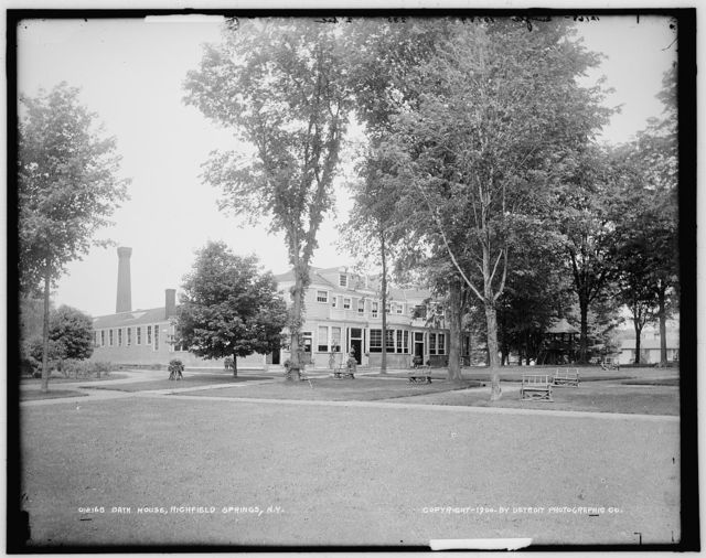 Bath house, Richfield Springs, N.Y.