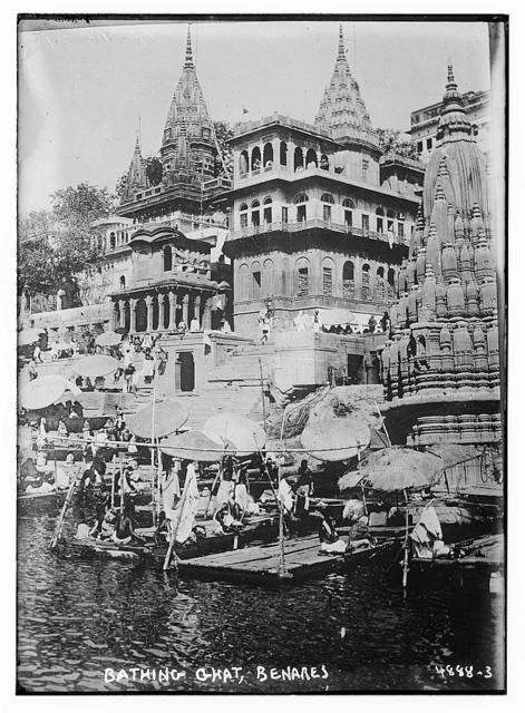 Bathing Ghat, Benares