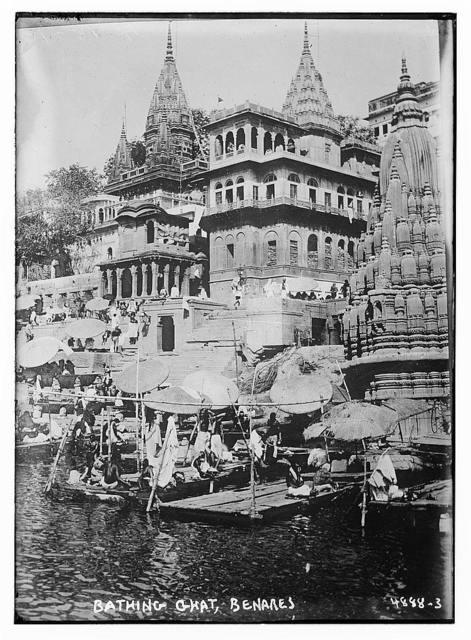 Bathing Ghat, Benares