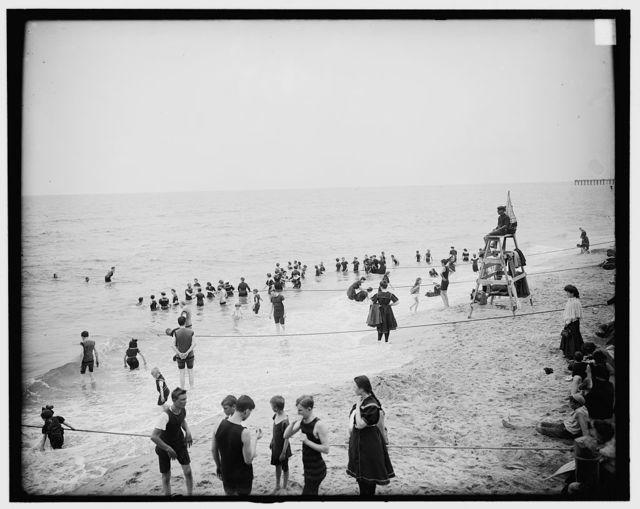 [Bathing, Ocean Grove, N.J.]
