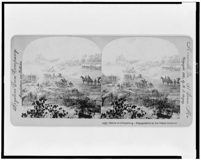 Battle of Gettysburg - Engagement in the Peach Orchard