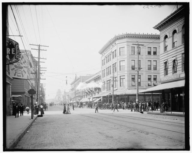 [Bay St., west from Main, Jacksonville, Fla.]