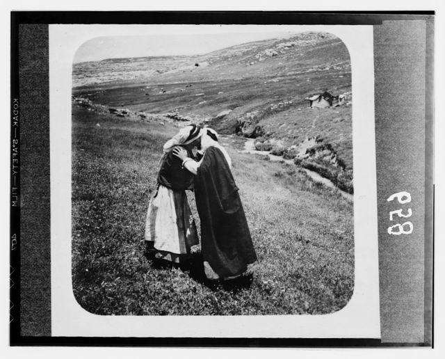 Bedouin wedding series. Bedouin saluting