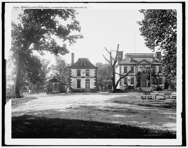 Benedict Arnold's mansion, Fairmount Park, Philadelphia, Pa.