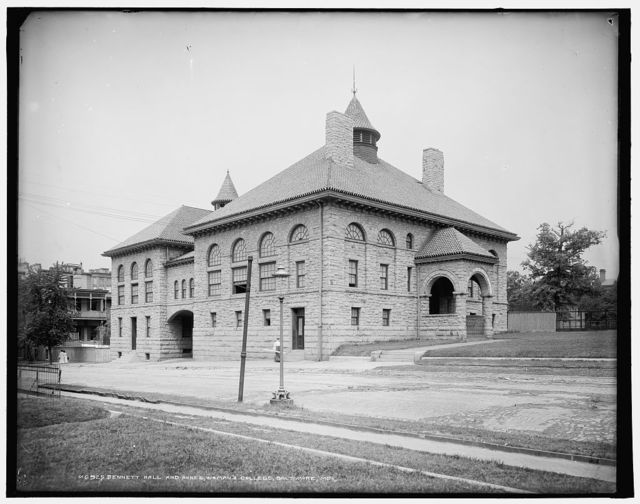 Bennett Hall and annex, Woman's College, Baltimore, Md.