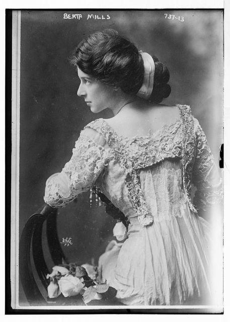 Berta Mills, White, N.Y. / White