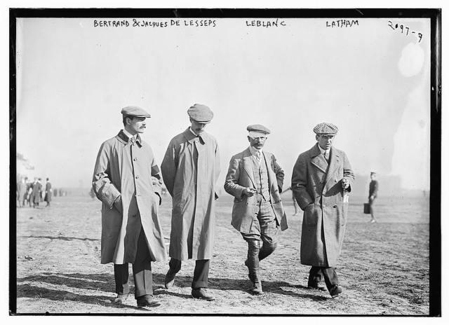 Bertrand and Jacques DeLesseps   LeBlanc Latham