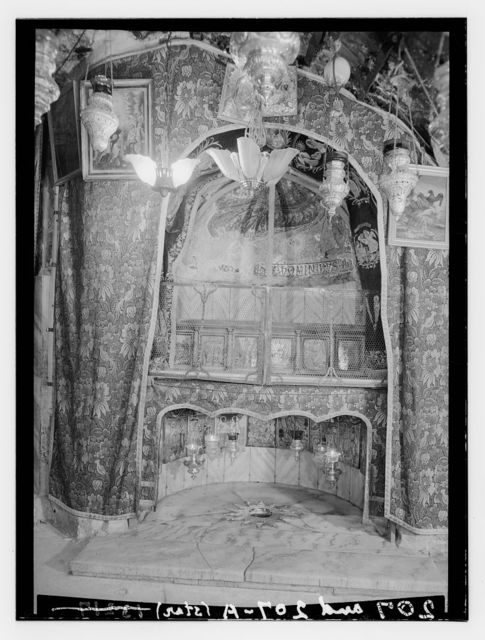 Bethlehem and surroundings. Grotto of the Nativity