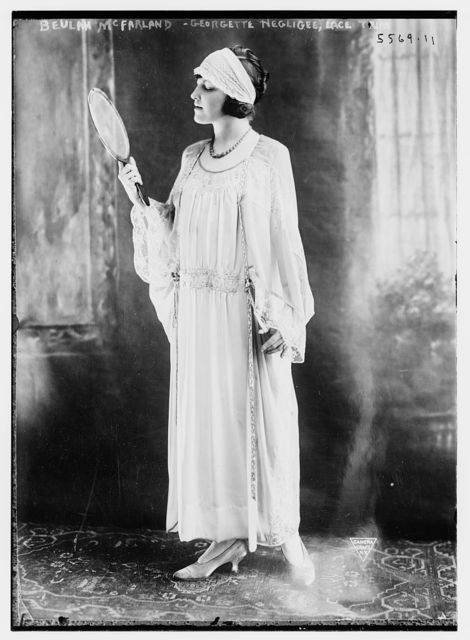 Beulah McFarland (Georgette negligee with lace trim)