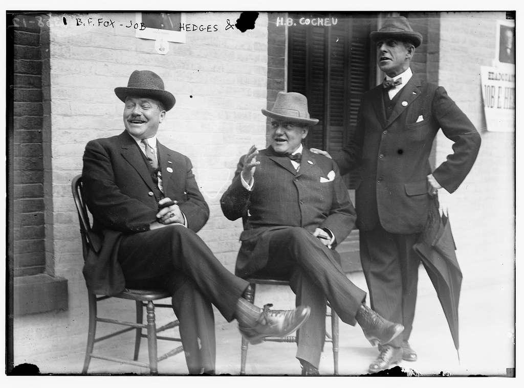 B.F. Fox, Job Hedges, and H.B. Cocheu