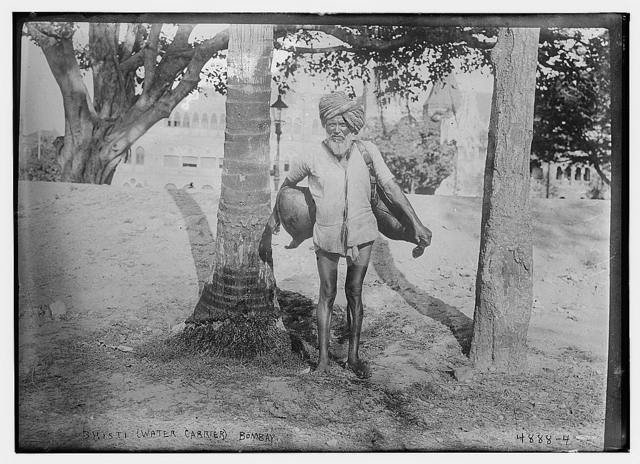 Bhisti (Water Carrier) Bombay
