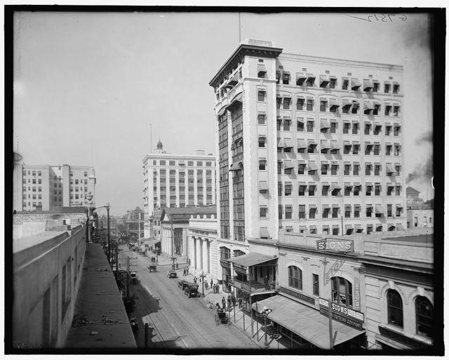 [Bisbee Building and Banker's Row, Jacksonville, Fla.]