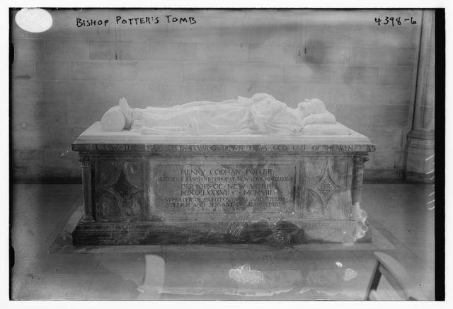 Bishop Potter's tomb