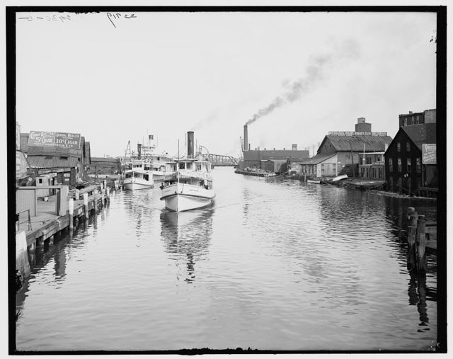 [Black River, Port Huron, Mich.]