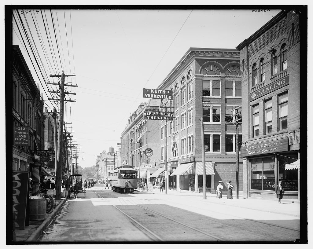 [Bleecker Street, Utica, N.Y.]