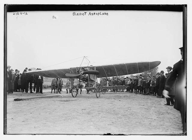 Bleriot aeroplane