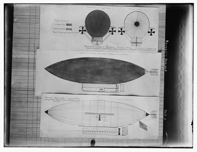 Bliven's airship (blueprint)