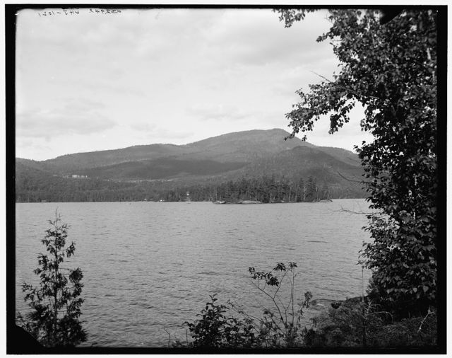 [Blue Mountain from Blue Mt. Lake, Adirondacks, N.Y.]