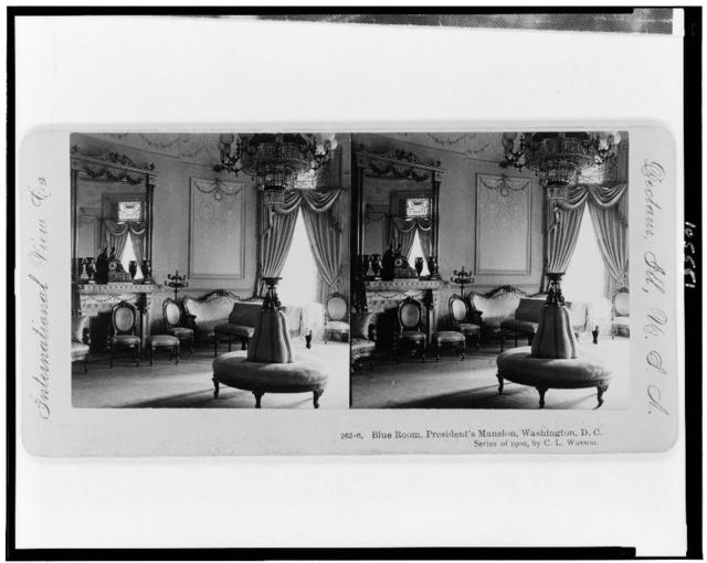 Blue Room, President's mansion, Washington, D.C. / by C.L. Wasson.