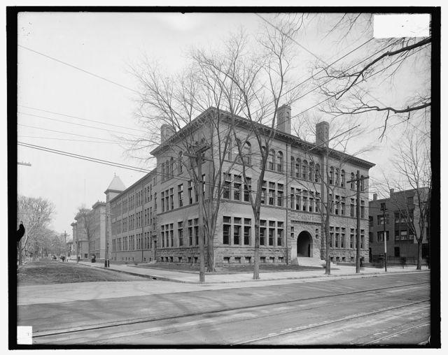 [Boardman manual training school, New Haven, Conn.]
