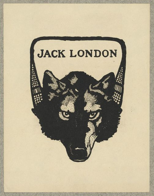 [Bookplate of Jack London]
