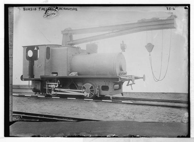 Borsig fireless locomotive