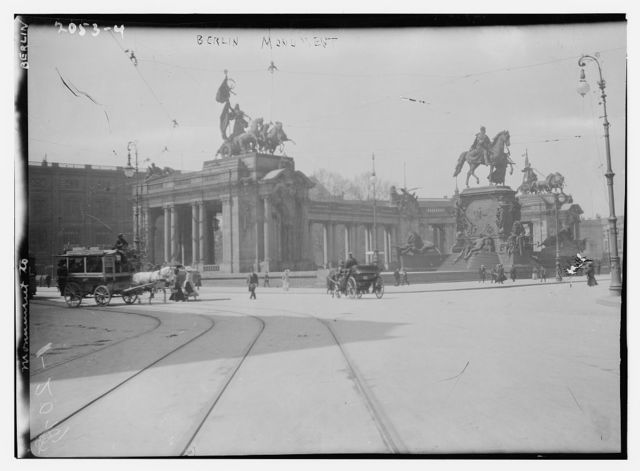 [Brandenburg Gate. Berlin]
