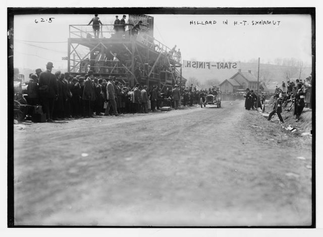 Briarcliff Auto Race -Hillard in H.T. Shawmut