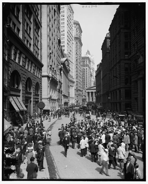[Broad Street and the curb brokers, New York, N.Y.]