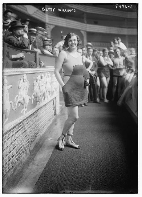 Broadway whirl girl -- Betty Williams