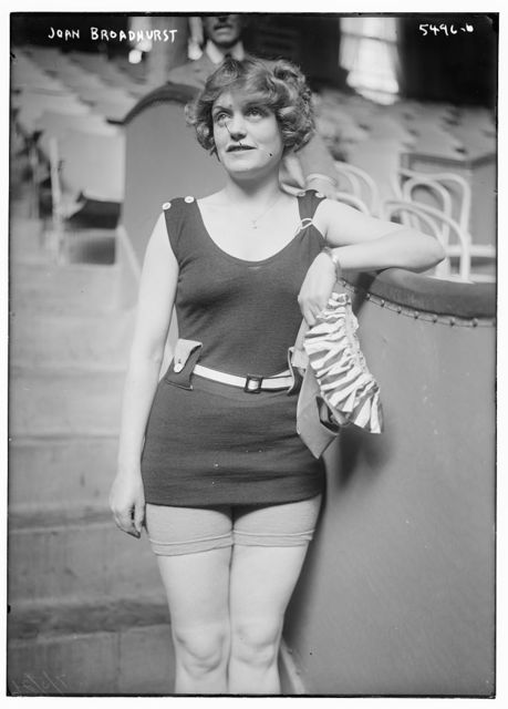 Broadway whirl girl -- Joan Broadhurst