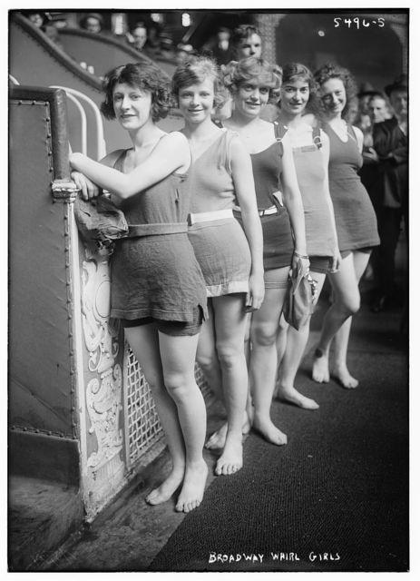 Broadway whirl girls