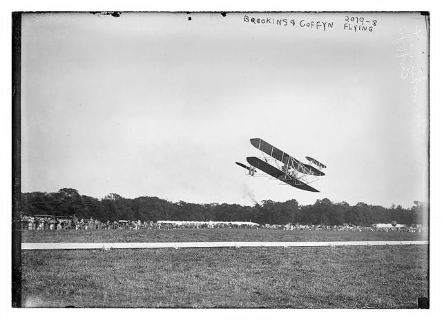 Brookins and Coffyn flying