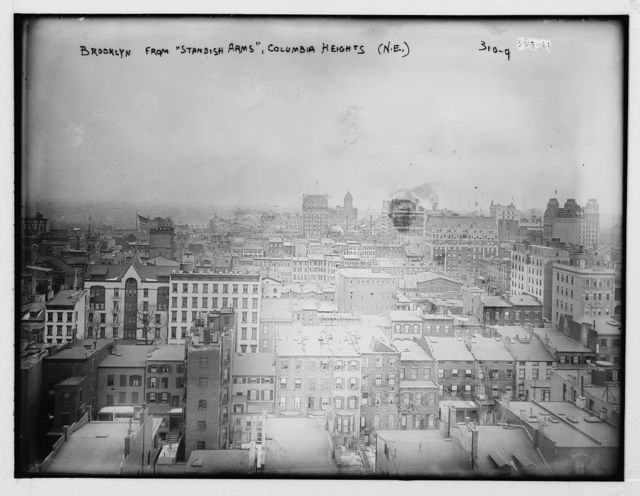 """Brooklyn from """"Standish Arms"""", Columbia Heights (N.E.)"""