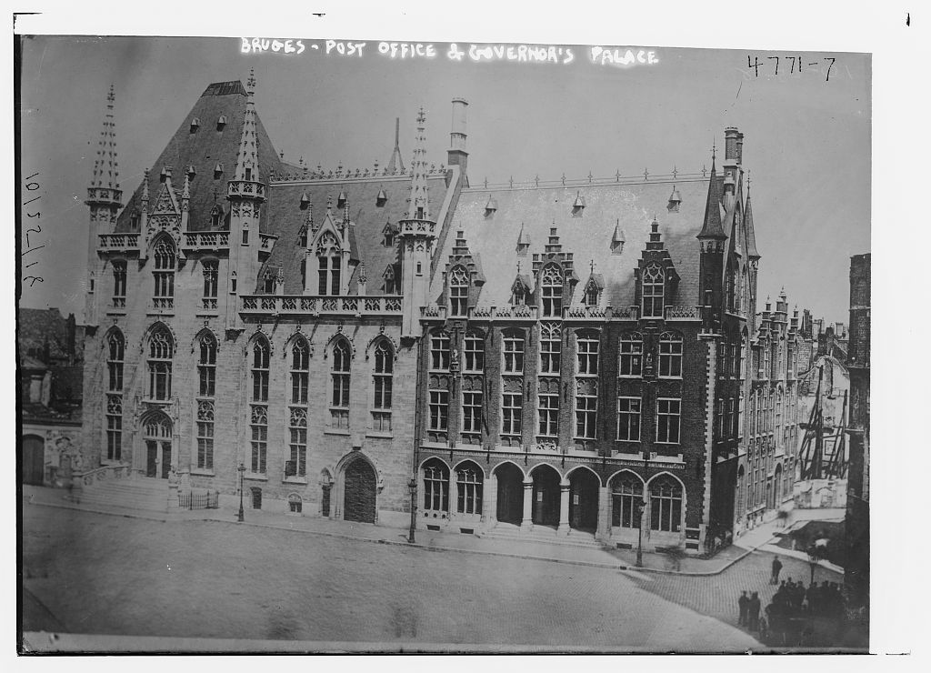 Bruges, Post Office & Governor's Palace