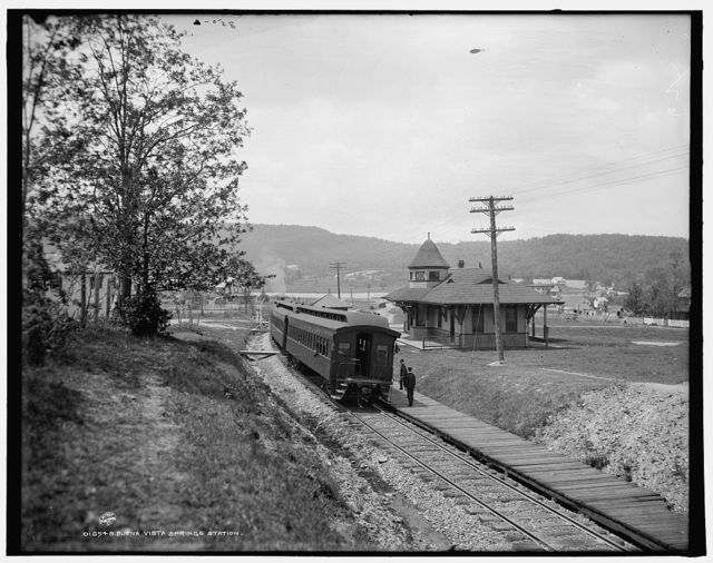Buena Vista Springs station
