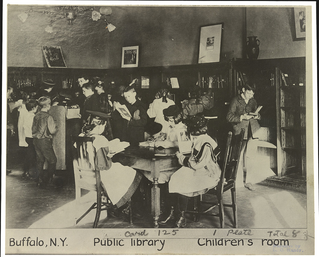 Buffalo, N.Y. -  Public library - children's room