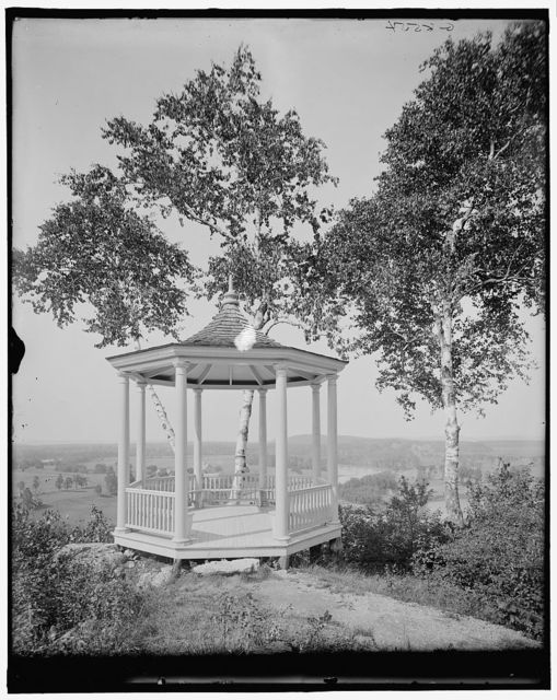 [Burlington, Vt., Ethan Allen Park, the pinnacle outlook]