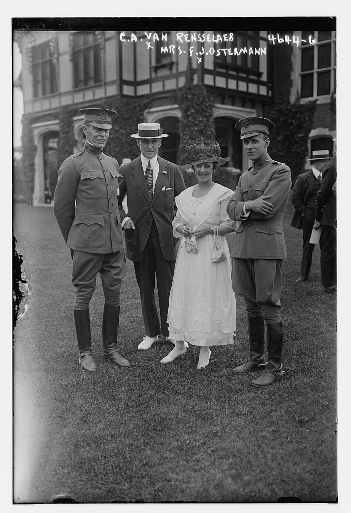 C.A. Van Rensselaer & Mrs. F.J. Osterman