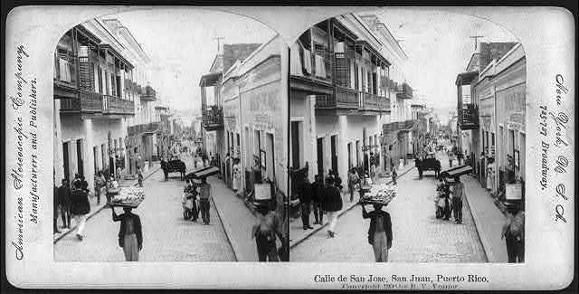 Calle de San Jose, San Juan, Puerto Rico