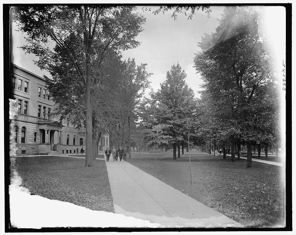 [Campus & Law Dept., University of Michigan, Ann Arbor, Mich.]