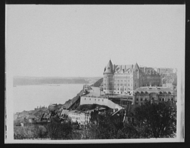 Canadian Pacific Railway Hotel, [Chateau Frontenac, Quebec]