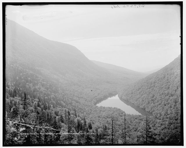 Cannon Mt. and Profile House, Franconia Notch, White Mts., N.H.