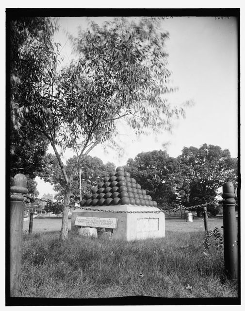 [Cannonball monument, Put-In-Bay, Ohio]