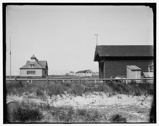 [Cape May, N.J., life saving station]